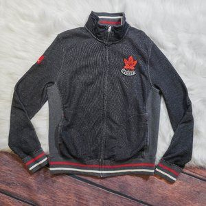 Hudson's Bay Canada Olympic Zip Up Sweater
